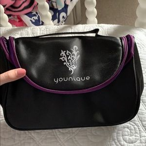 New black cosmetic bag